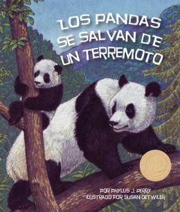 Los pandas se salvan de un terremoto (NOOK Comic with Zoom View)