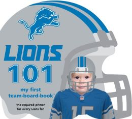 Detroit Lions 101: My First Team-board-book