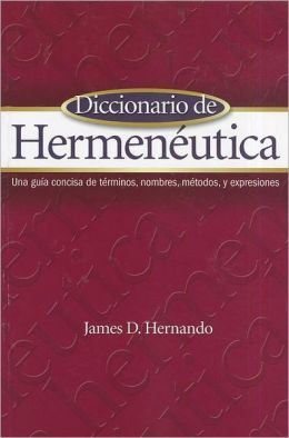 Diccionario de Hermeneutica