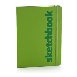 Ecosystem Recycled Sketchbook: Large Kiwi Hardcover