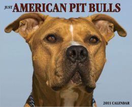 2011 American Pit Bull Terriers Wall Calendar