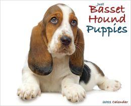 2011 Basset Hound Puppies Wall Calendar