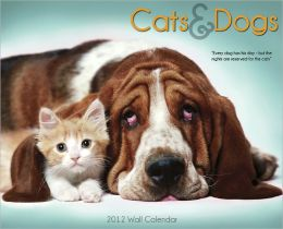 2012 Cats & Dogs Wall Calendar
