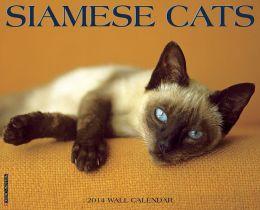2014 Siamese Cats Wall Calendar
