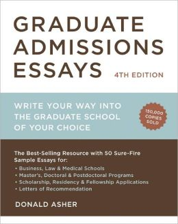 Phd application essay education