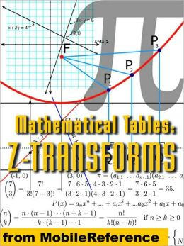 Mathematical Tables: Z-transforms