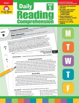Daily Reading Comprehension: Grade 5
