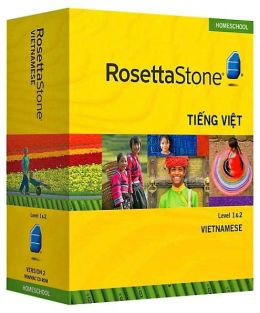 Rosetta Stone Homeschool Version 3 Vietnamese Level 1 & 2 Set: with Audio Companion, Parent Administrative Tools & Headset with Microphone