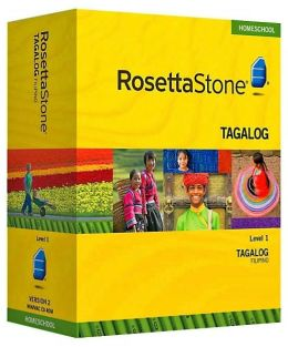Rosetta Stone Homeschool Version 3 Filipino (Tagalog) Level 1: with Audio Companion, Parent Administrative Tools & Headset with Microphone