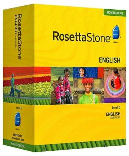 Rosetta Stone Homeschool Version 3 English (US) Level 5: With Audio Companion, Parent Administrative Tools and Headset with Microphone
