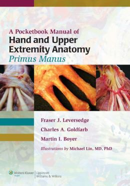 A Pocketbook Manual of Hand and Upper Extremity Anatomy: Primus Manus
