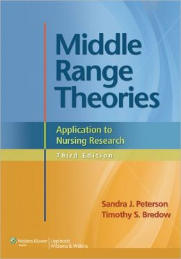 Middle Range Theories: Application to Nursing Research
