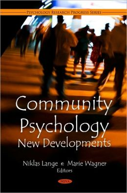 Community Psychology: New Developments