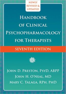 The Handbook of Clinical Psychopharmacology for Therapists