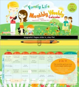 2011 Family Life Monthly/Weekly 17-month Wall Calendar