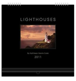 2011 Lighthouses Gallery Series Wall Calendar