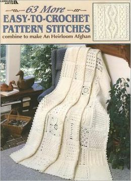 63 More Easy-To-Crochet Pattern Stitches (Leisure Arts #2146)