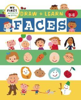 Draw + Color Fun: Faces