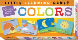 Matching Puzzle Cards: Colors