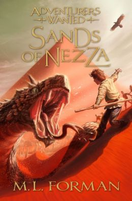 Adventurers Wanted, Book 4: Sands of Nezza