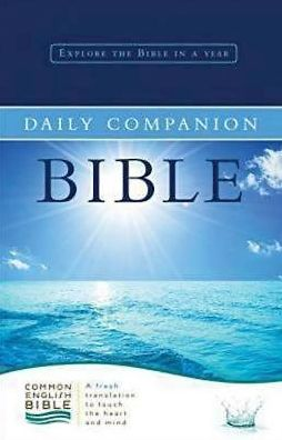 Common English Bible Daily Companion Bible Hardcover