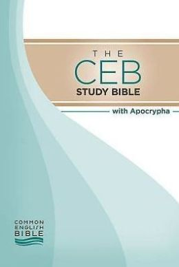 CEB Common English Bible Study Bible Hardcover with Apocrypha