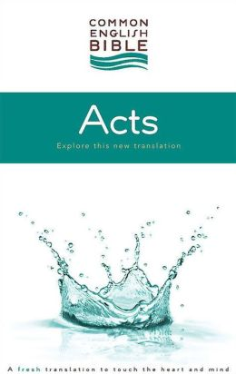 CEB Common English Bible Acts of the Apostles - eBook [ePub]