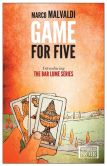 Book Cover Image. Title: Game for Five, Author: Marco Malvaldi