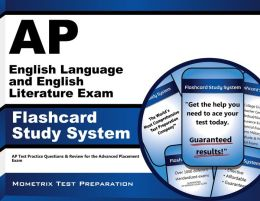 AP English Language and English Literature Exam Flashcard Study System