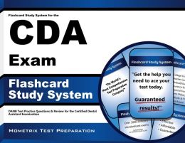 Flashcard Study System for the CDA Exam