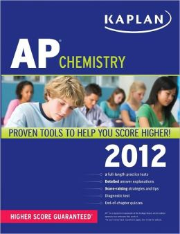 Kaplan AP Chemistry 2012