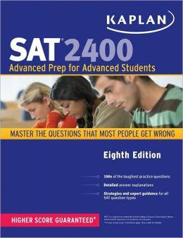 Kaplan SAT 2400