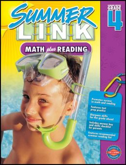 Summer Link Math plus Reading, Grades 3-4