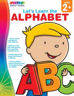 Spectrum Let's Learn the Alphabet, Ages 2+