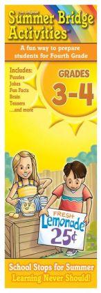 Summer Bridge Activities Fact Cards, Grade 3-4