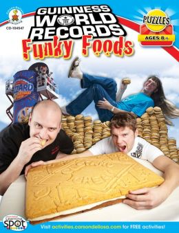 Guinness World Records Funky Foods, Ages 8+