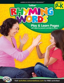 Rhyming Words, Grades PreK-K
