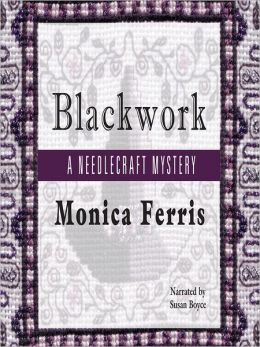 Blackwork (Needlecraft Mystery Series #13)