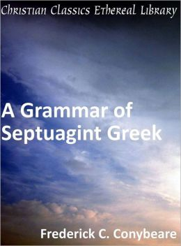 Grammar of Septuagint Greek