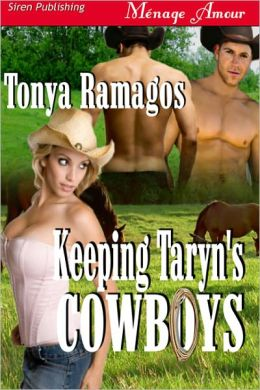 Keeping Taryn's Cowboys [Sunset Cowboys 3] (Siren Publishing Menage Amour)