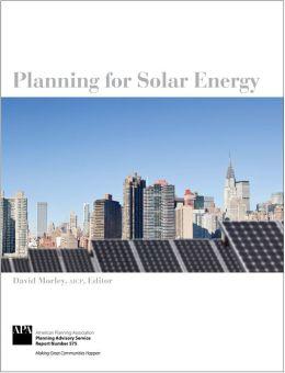 Planning for Solar Energy