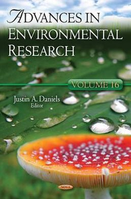 Advances in Environmental Research: V. 16