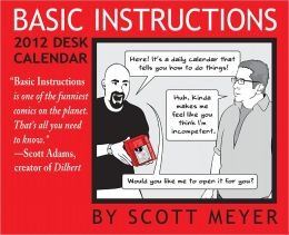 2012 Basic Instructions Box Calendar
