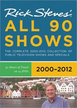 Rick Steves' Europe All 90 Shows DVD Boxed Set 2000-2012