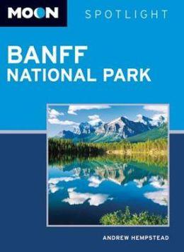Moon Spotlight Banff National Park