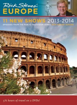 Rick Steves' Europe 11 New Shows DVD 2013-2014