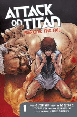 Attack on Titan: Before the Fall 1