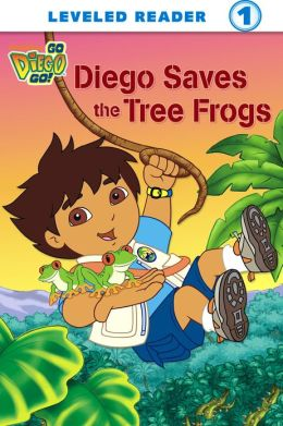 Diego Saves the Tree Frogs (Go, Diego, Go!) (PagePerfect NOOK Book)