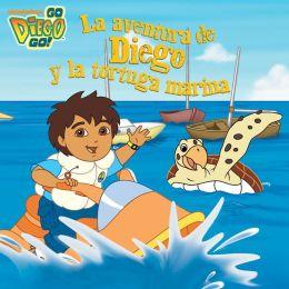 La aventura de Diego y la tortuga marina (Go, Diego, Go!) (PagePerfect NOOK Book)