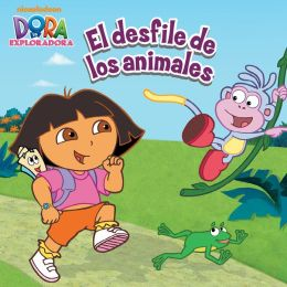 El desfile de los animales (Dora la Exploradora) (PagePerfect NOOK Book)
